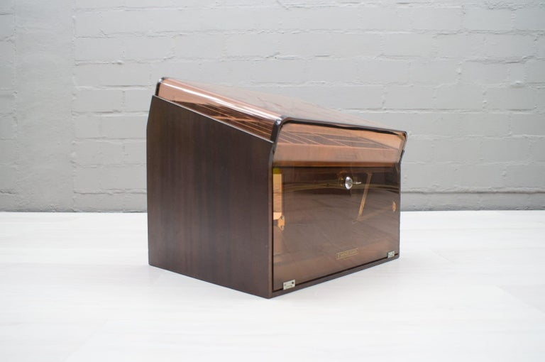 Vintage Cigar Humidor from 5th Avenue, 1970s In Good Condition For Sale In Nürnberg, Bayern