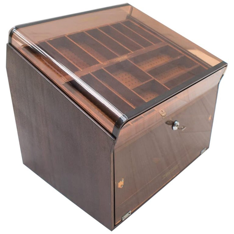 Vintage Cigar Humidor from 5th Avenue, 1970s For Sale