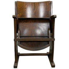Vintage Cinema Seat from Ton, 1950s