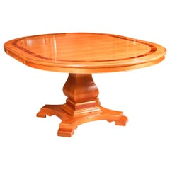 Vintage Circular Extending Dining Table by Charles Barr, 20th Century