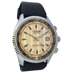 Vintage Citron Datomatic Mechanical Watch