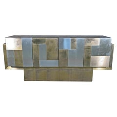 """Vintage """"Cityscape"""" Sideboard by Paul Evans"""