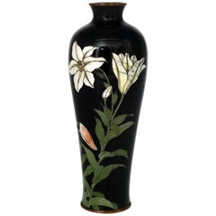 Vintage Cloisonné Vase, Japan, Early 20th Century