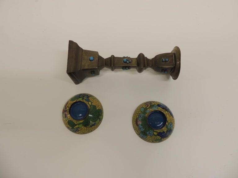 Moorish Vintage Cloisonnette Objets D'Art For Sale