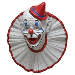 Vintage Clown Bust