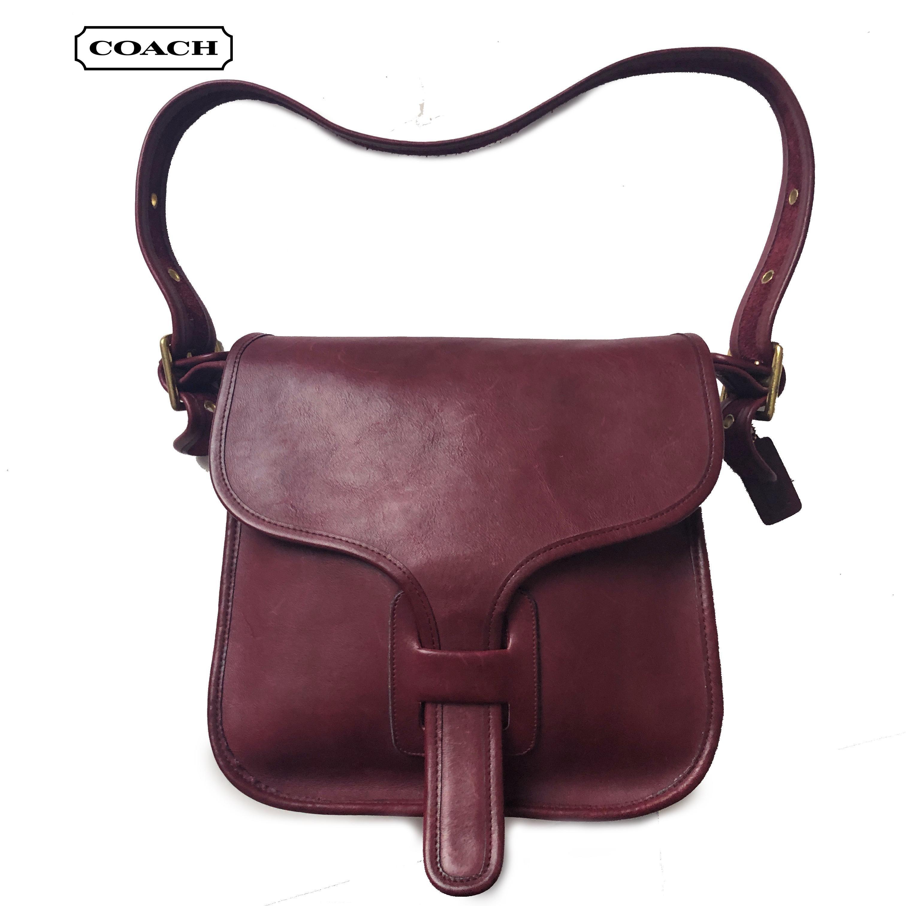Vintage Leather Messenger Bag  Brown Courier Bag from 80/'s