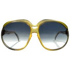 Vintage Cobra Optyl Ombre 3031 Oversized Optyl Sunglasses