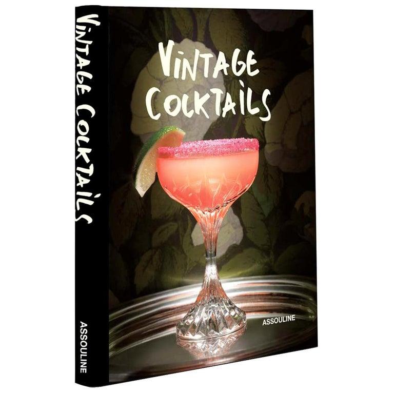 """""""Vintage Cocktails"""" Book For Sale"""