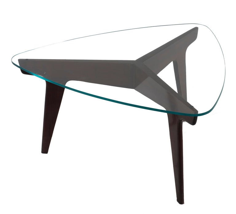 Italian Vintage Coffe Table by Gio Ponti, Italy, 1950s For Sale