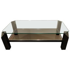 Vintage Coffee Table by Belgochrom, 1970s
