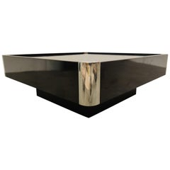 Vintage Coffee Table by Willy Rizzo, 1970s