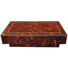 midcentury Vintage Coffee Table by Willy Rizzo