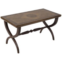 Vintage Coffee Table, Italian Manufacture, Early 20th Century