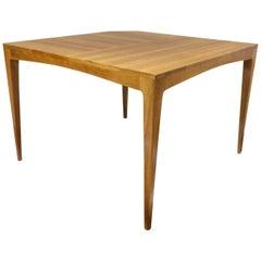 Vintage Coffee Table or side Table in Beech, 1960 Scandinavian Modern