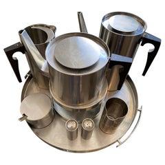 Vintage Coffee / Tea Set by Arne Jacobsen for Stelton