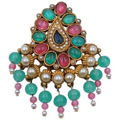 Vintage Collectible Kenneth Jay Lane Brooch 1960's
