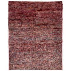 Vintage Colorful Turkish Sparta Carpet