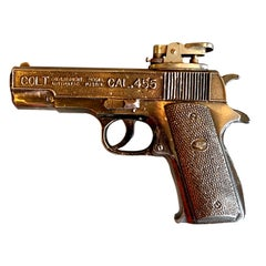 Vintage Colt 45 Handgun Lighter