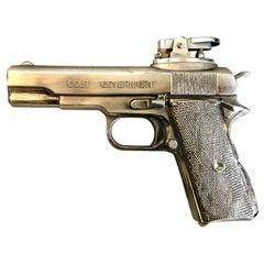 Vintage Colt Government Handgun Lighter