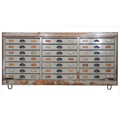 Vintage Continental Industrial Drawers