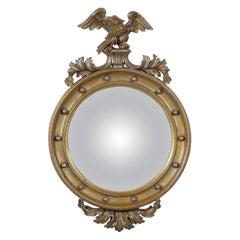 Vintage Convex Giltwood Mirror