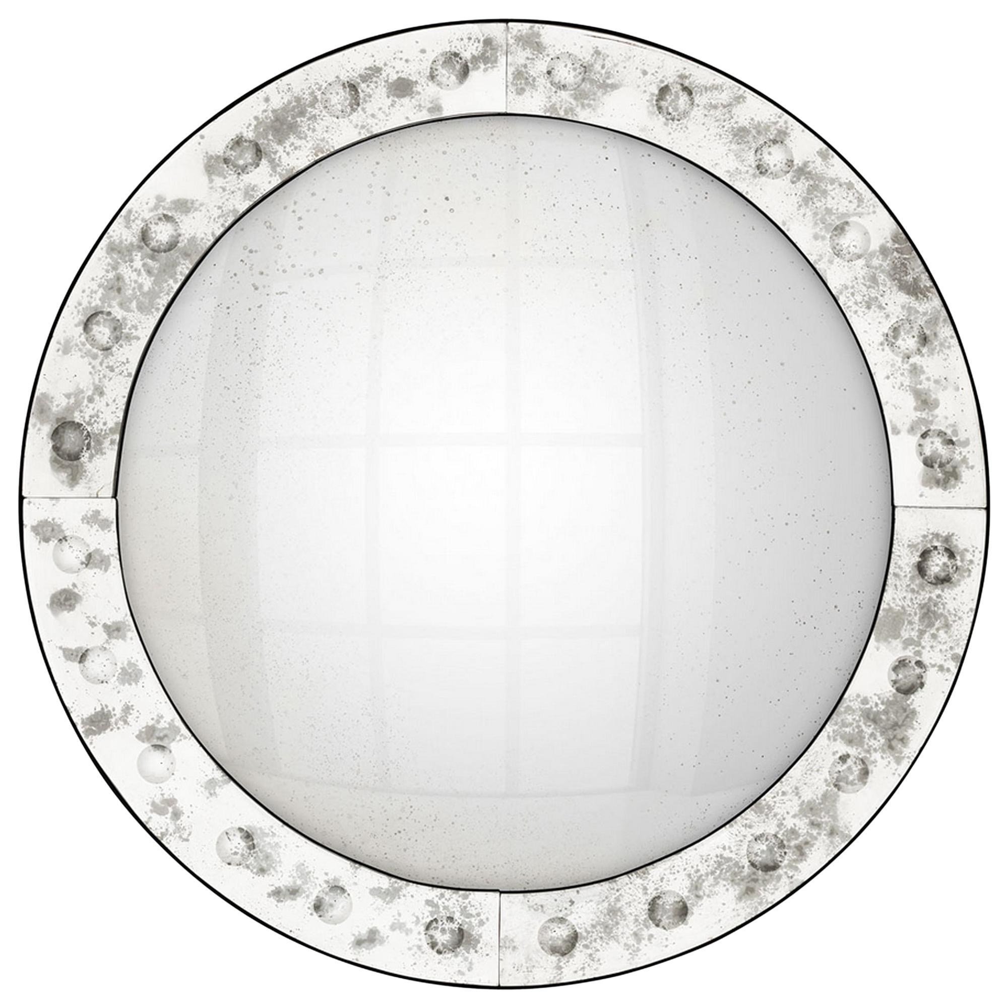 Vintage Convex Mirror Glass