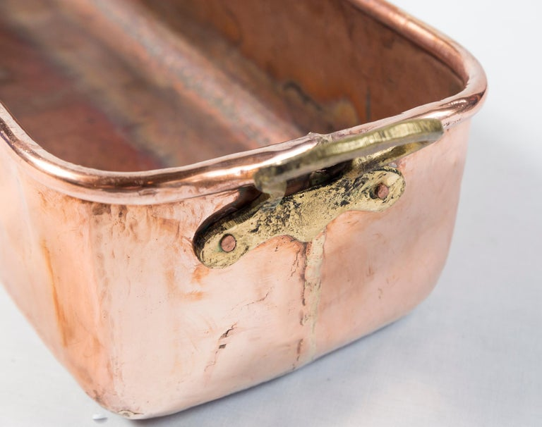 Vintage Copper Fish Pan, Early 20th Century 1
