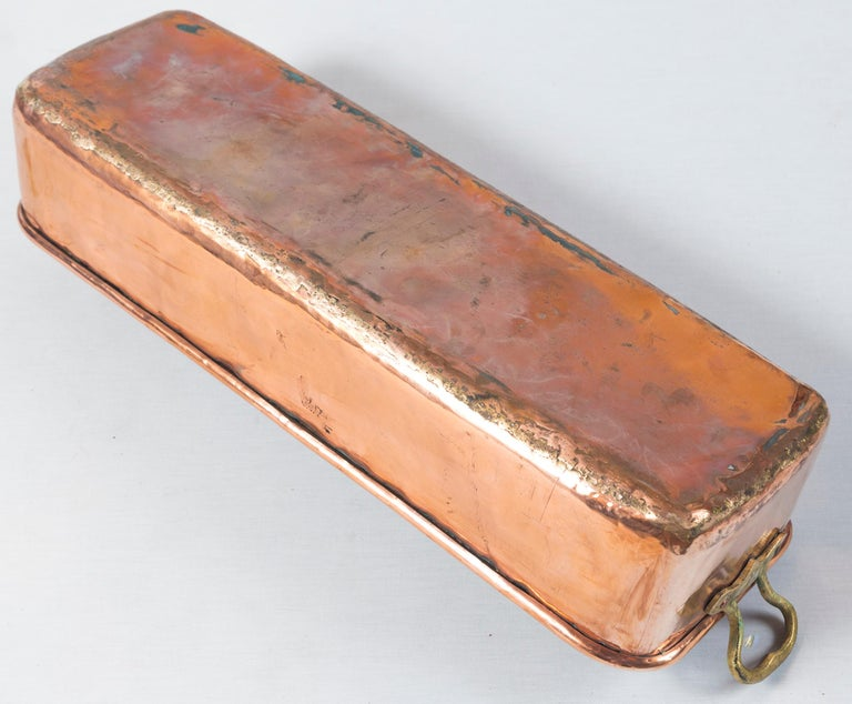 Vintage Copper Fish Pan, Early 20th Century 4
