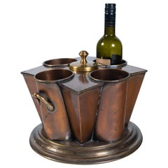 Vintage Copper Vine Cooler