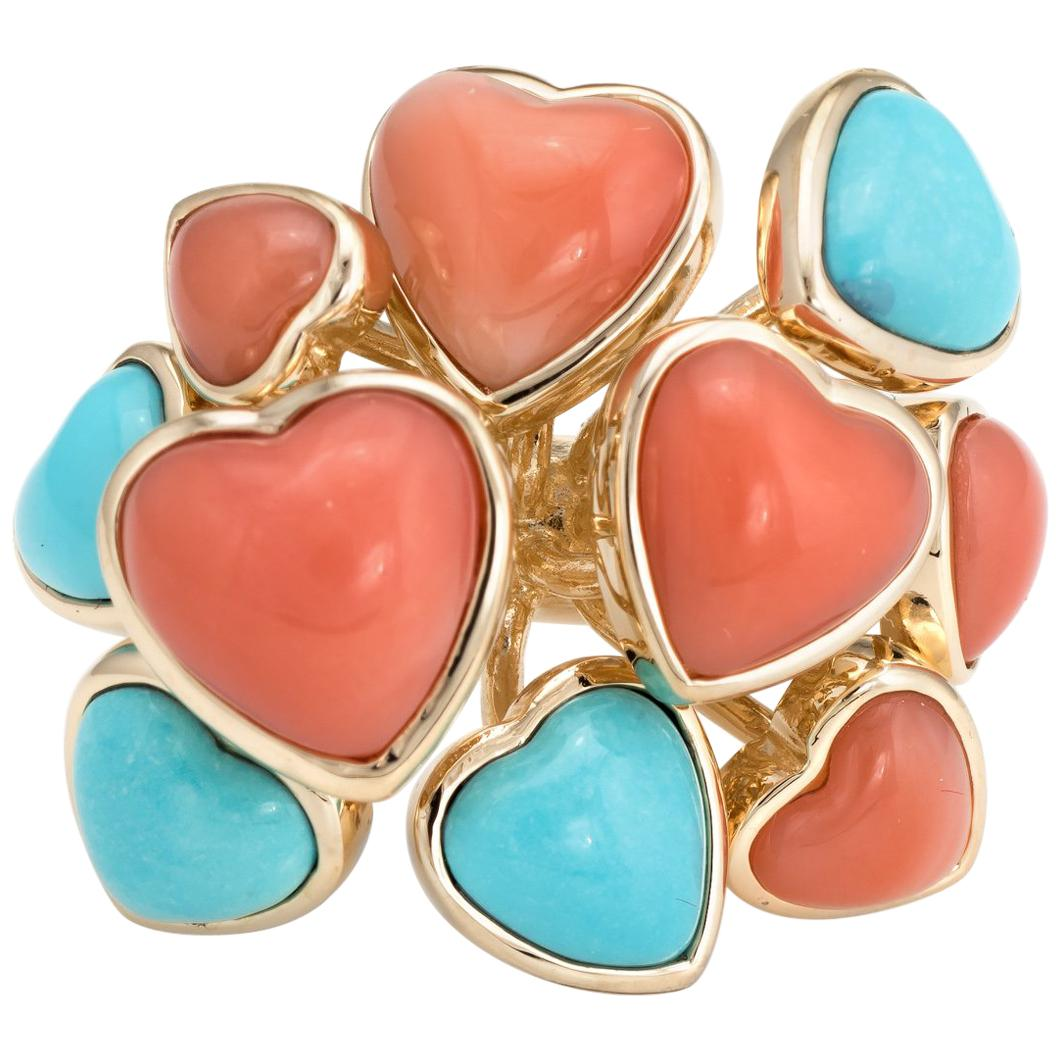 8c8d707a2dde Antique Coral Rings - 553 For Sale at 1stdibs
