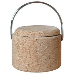 Vintage Cork Ice Bucket by Signe Persson-Melin