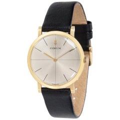 Vintage Corum Dress Unisex Watch in Yellow Gold