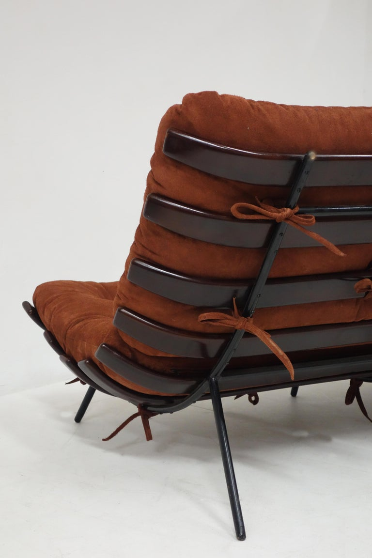 Vintage Costela Sofa by Carlo Hauner and Martin Eisler, Edited by Forma In Good Condition For Sale In Paris, FR