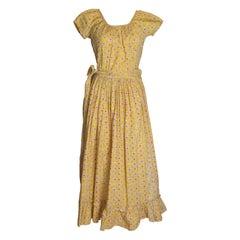 Vintage Cotton Summer Gown