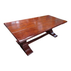Vintage Country Plank Farm Dining Table