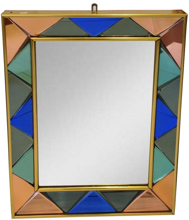 Mid-20th Century Vintage Cristal Art Mirror, 1960s For Sale