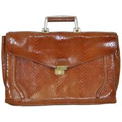 Vintage Crocodile Hand Bag by Amiet