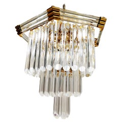 Vintage Crystal Chandelier by Bakalowits & Sohne, 1980s