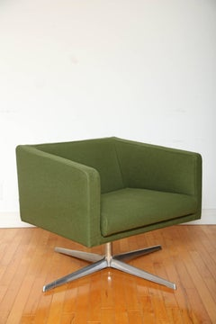 Vintage Cubica Swivel Lounge Chair by Verzelloni