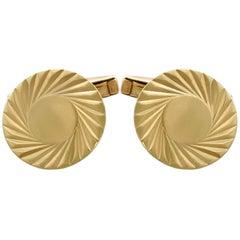 Vintage Cufflinks in 9 Karat Yellow Gold