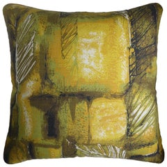 Vintage Cushions, Bespoke-Made Luxury Pillow, 'Feather Leaf Vein', Made in UK