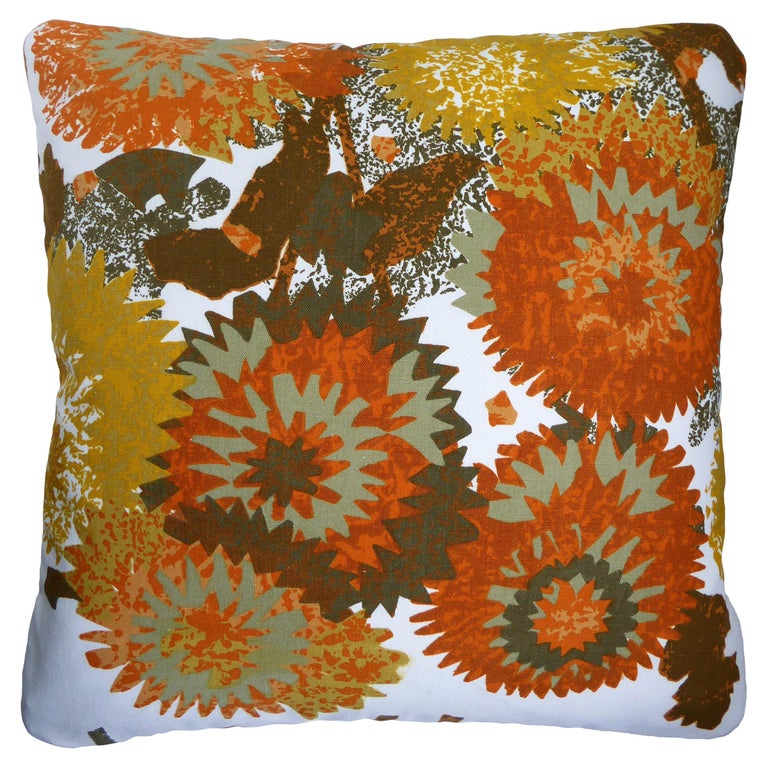 Vintage Cushions, Bespoke-Made Luxury Pillow 'Miranda', Made in UK For Sale