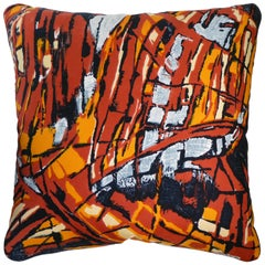 Vintage Cushions, Bespoke-Made Luxury Silk Pillow 'Modele Despose', Made in UK
