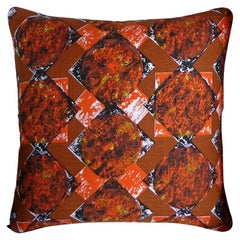 "Vintage Cushions ""Cooper"" Original 1960's bespoke pillow - Made in London"