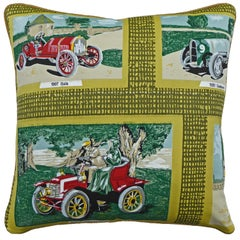 'Vintage Cushions' Luxury Bespoke-Made Pillow '1907 Itala' Made in London