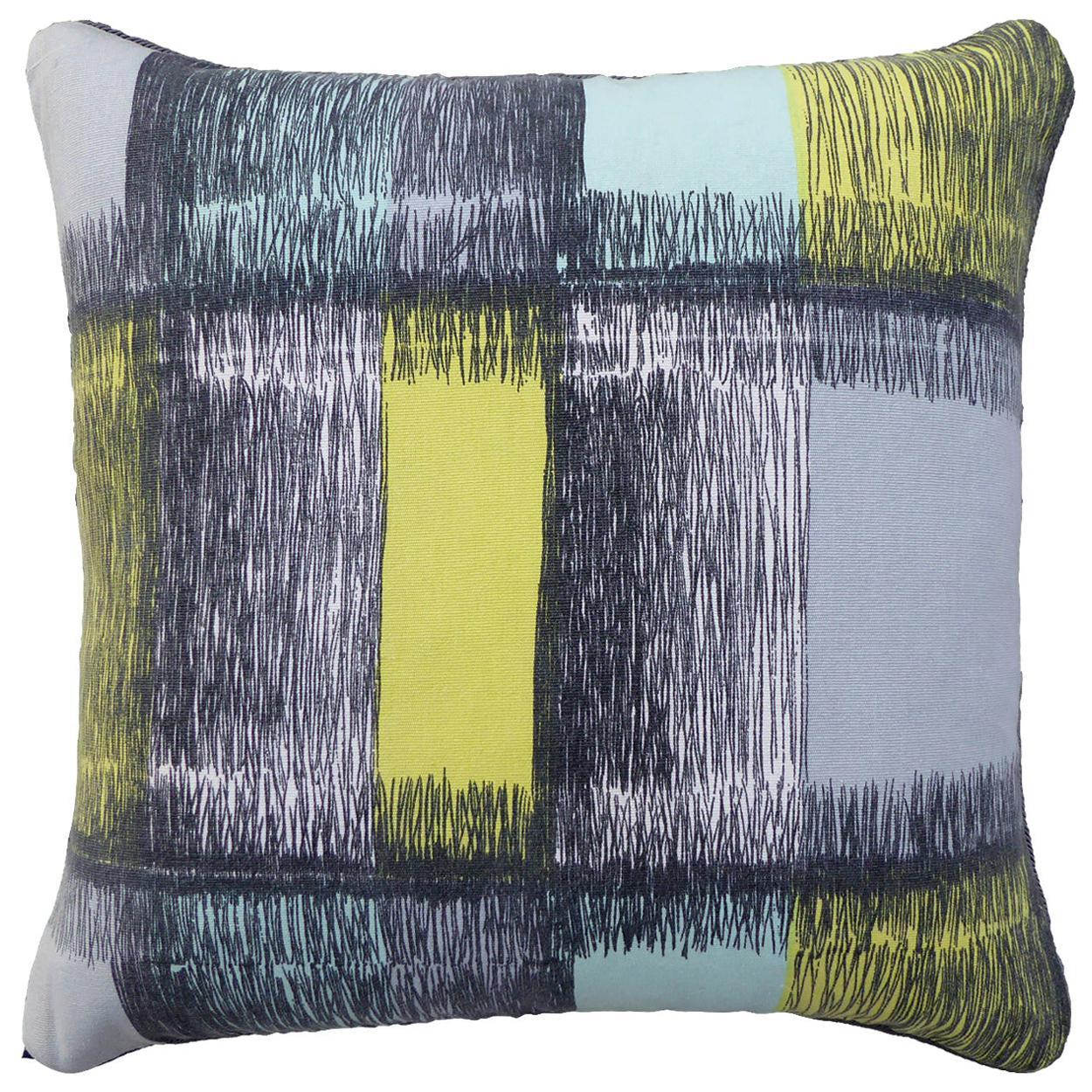 Vintage Cushions, Luxury Bespoke Made Pillow 'Aitken', Made in UK
