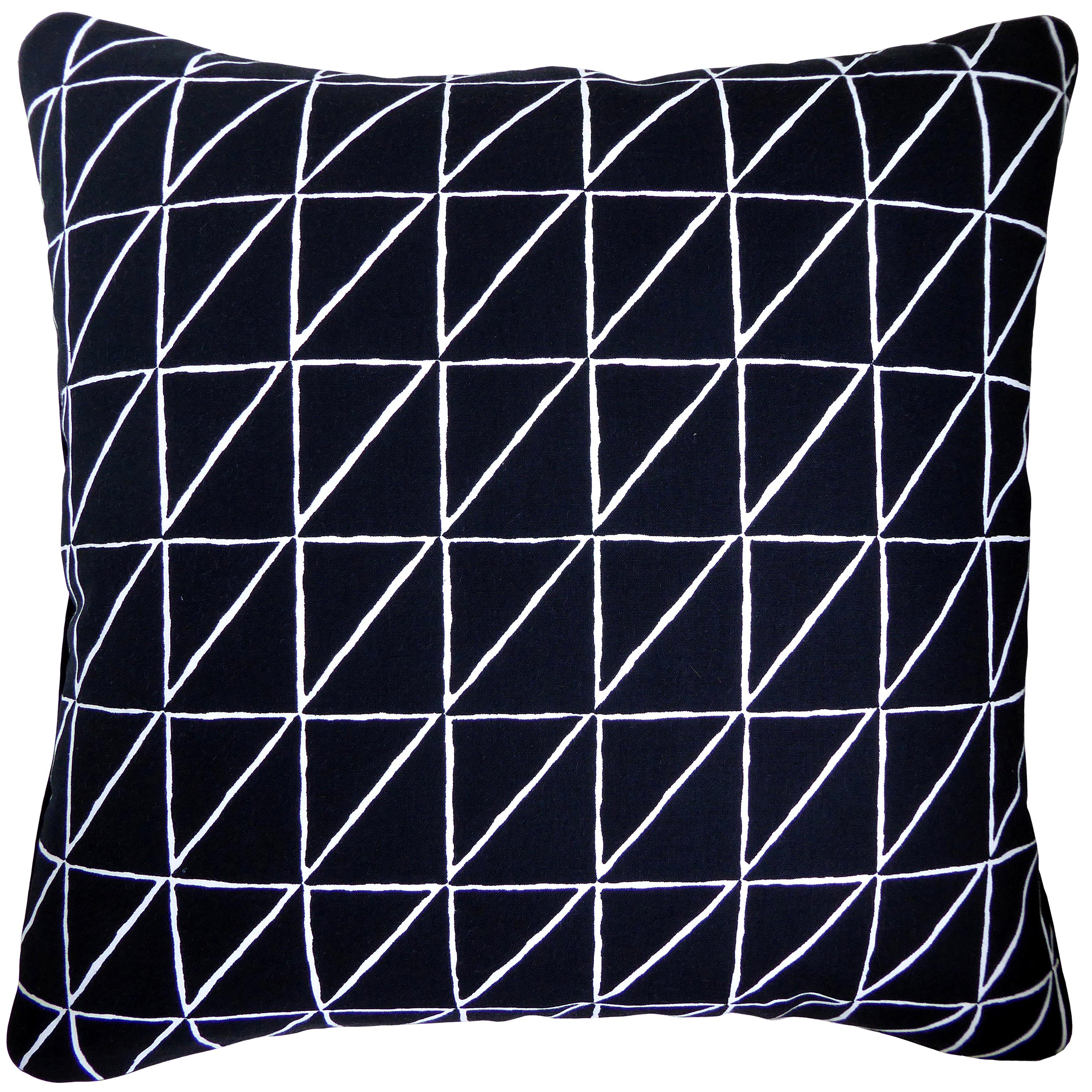 'Vintage Cushions' Luxury Bespoke-Made Pillow 'Carrara' Made in London