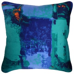 'Vintage Cushions' Luxury Bespoke-Made Pillow 'Romany', Made in London
