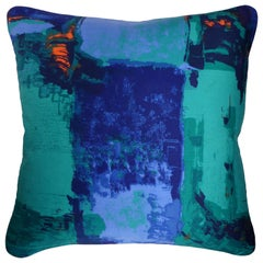 'Vintage Cushions' Luxury Bespoke-Made Pillow 'Romany', Made in UK