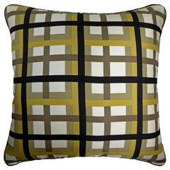 Vintage Cushions, Luxury Bespoke-made Silk Pillow Basley-Dyer, Made in London